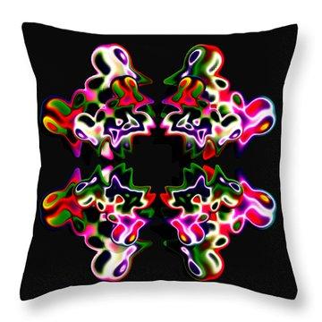 Luxe 2 Throw Pillow