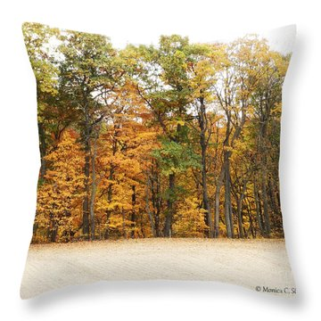 M Landscapes Fall Collection No. Lf64 Throw Pillow