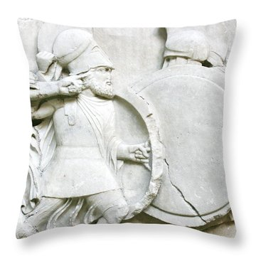 M# Throw Pillow by MGhany