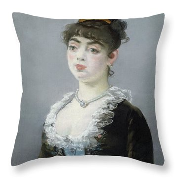 Madame Michel-levy Throw Pillow