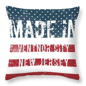 Made In Ventnor City, New Jersey Throw Pillow