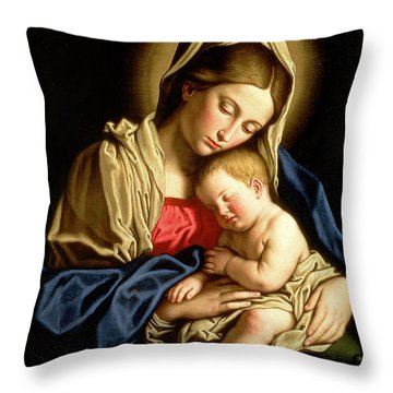 Jesus Throw Pillows