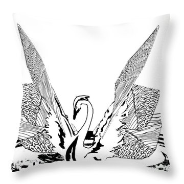 Magnificent Throw Pillow by Belinda Threeths