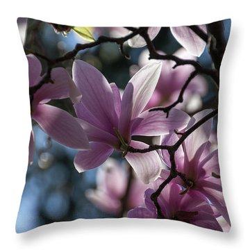Magnolia Net - Throw Pillow
