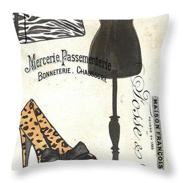 Maison De Mode 1 Throw Pillow