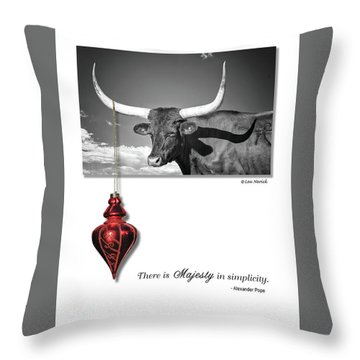 Majesty In Simplicity Throw Pillow