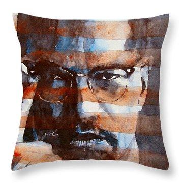 Malcolmx Throw Pillow