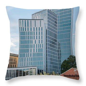 Malmo Live Building Blocks Throw Pillow