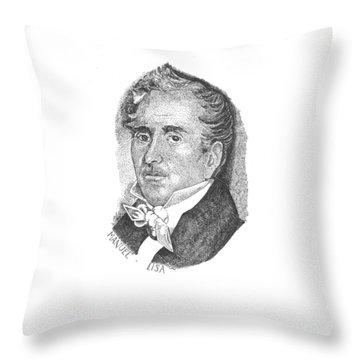 Manuel Lisa Throw Pillow