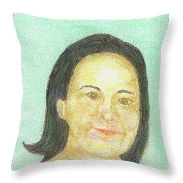 Maria,maria,maria Throw Pillow
