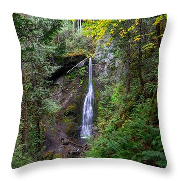 Marymere Falls Throw Pillow