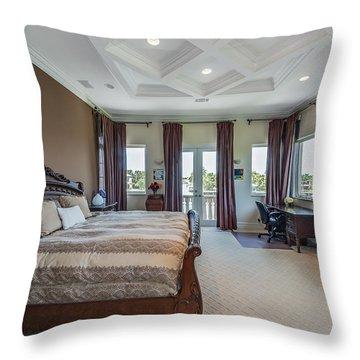 Master Bedroom Throw Pillow