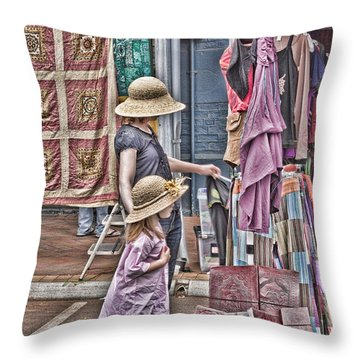 Matching Hats Throw Pillow