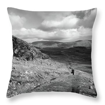 Maumeen Trail Throw Pillow