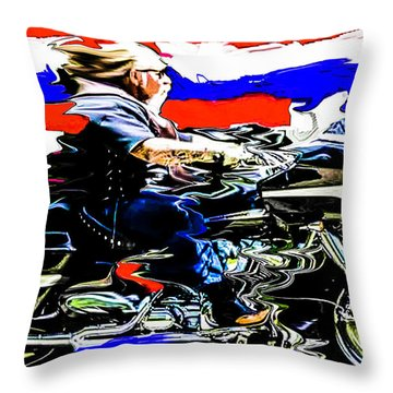 Mead In America Throw Pillow
