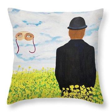 Memories Of June Throw Pillow
