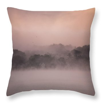 Throw Pillow featuring the photograph Meredith New Hampshire by Robert Clifford
