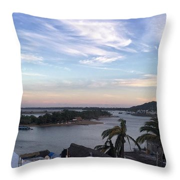 Mexico Memories Throw Pillow