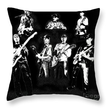 Mike Of Bralorne  Throw Pillow