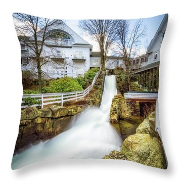 Mill Falls Throw Pillow