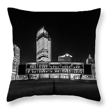 Throw Pillow featuring the photograph Milwaukee County War Memorial Center by Randy Scherkenbach