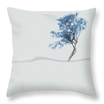 Mindfulness Tree Throw Pillow