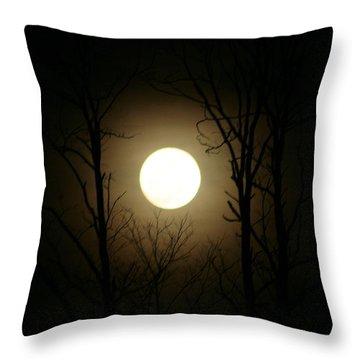 Mingo Moon Throw Pillow