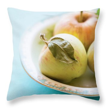 Mini Apples Throw Pillow