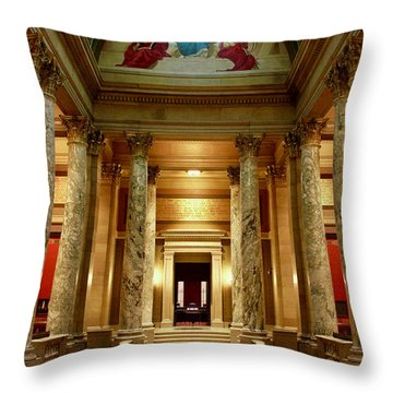 Minnesota Supreme Court Throw Pillow