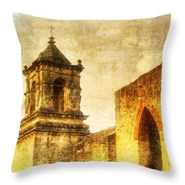 Mission San Jose San Antonio, Texas Throw Pillow