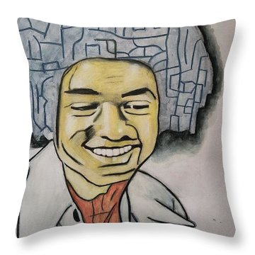 MJ Throw Pillow