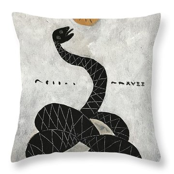 Mmxvii Life And Immortality No 1  Throw Pillow