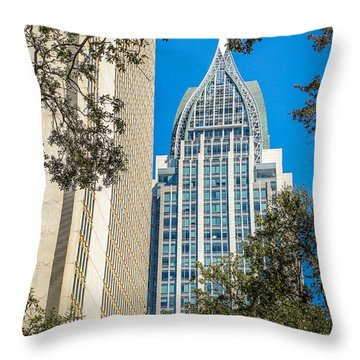 Mobile Shines Throw Pillow
