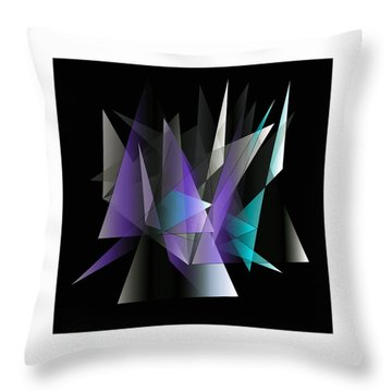 Modern 3 Throw Pillow by Iris Gelbart