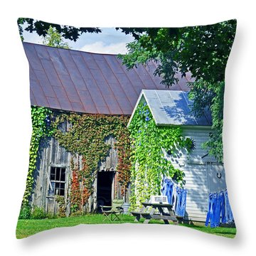 Monday Monday Throw Pillow
