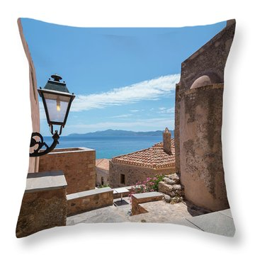 Monemvasia / Greece Throw Pillow