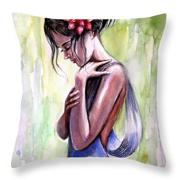 Mood 3 Throw Pillow