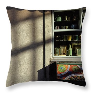 Morning Shadows Throw Pillow by Monte Stevens