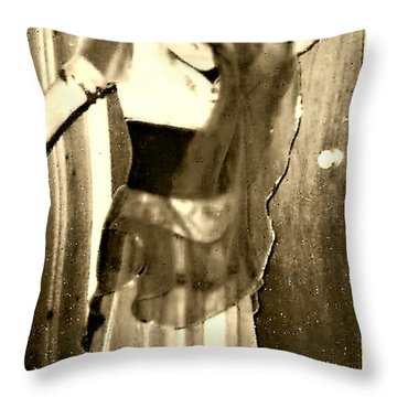 Throw Pillow featuring the photograph Morocco by Denise Fulmer