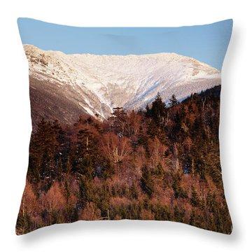 Mount Lafayette - White Mountains New Hampshire Usa Throw Pillow by Erin Paul Donovan