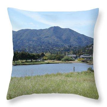 Mount Tamalpais Throw Pillow