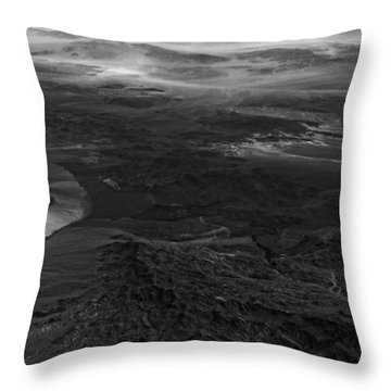 Mountains And Desert Throw Pillow