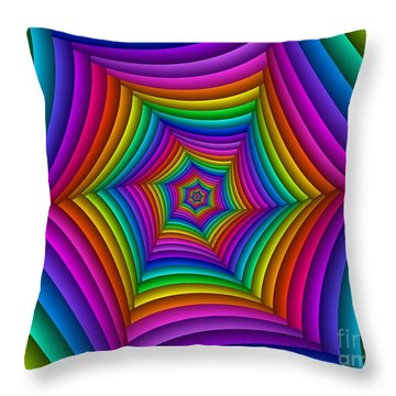 Multichrome  11 Throw Pillow