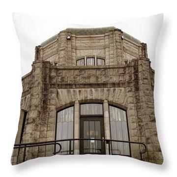 Vista House, Columbia River Gorge, Or. Throw Pillow