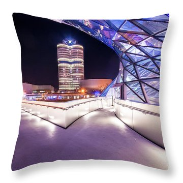 Munich - Bmw Modern And Futuristic Throw Pillow