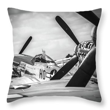 Mustang Ranch Throw Pillow