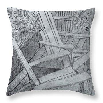 Mustard Mill  Throw Pillow