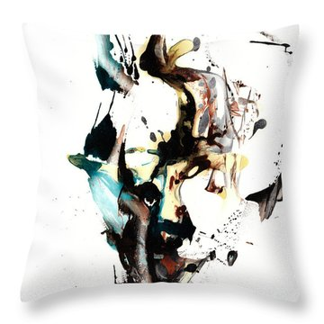 My Form Of Jazz Series 10064.102909 Throw Pillow