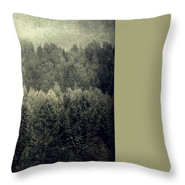 Mystic Woods Throw Pillow