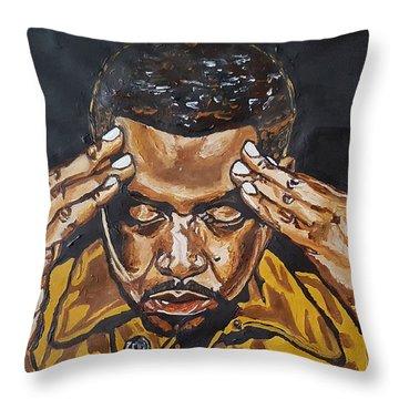 Nas Throw Pillow
